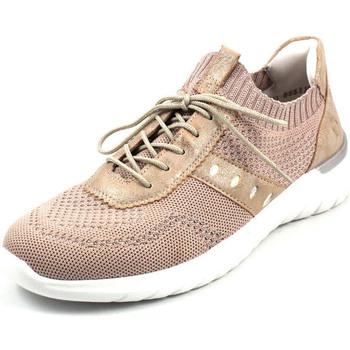 Schuhe Damen Sneaker Low Remonte Dorndorf  hellrosaglamsilbermultiros
