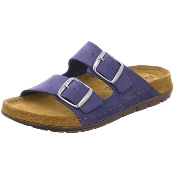 Schuhe Damen Pantoffel Rohde  blau