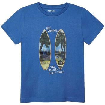 Kleidung Jungen T-Shirts & Poloshirts Mayoral  Azul