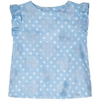 Kleidung Mädchen Hemden Mayoral  Azul