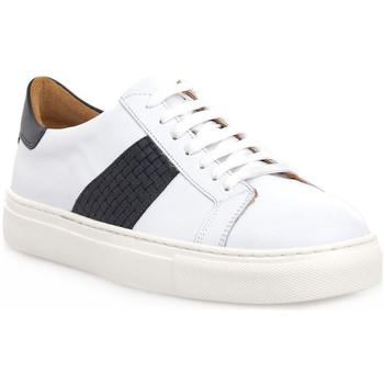 Schuhe Herren Sneaker Low Soldini COLORADO BIANCO BLU Bianco
