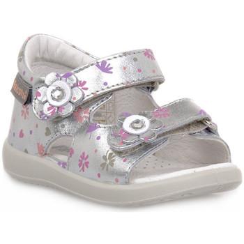 Schuhe Jungen Sandalen / Sandaletten Naturino FALCOTTO 0Q04 BENSEVAL SILVER Grigio