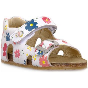Schuhe Jungen Sandalen / Sandaletten Naturino FALCOTTO 0N01 BEA WHITE Bianco