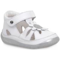 Schuhe Jungen Sandalen / Sandaletten Naturino FALCOTTO 1N02 ORINDA WHITE Bianco
