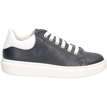 Schuhe Jungen Sneaker Low Dianetti Made In Italy I9796B Sneaker Kind BLAU BLAU