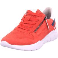 Schuhe Damen Derby-Schuhe & Richelieu Jana Woms Lace-up RED COMB 5