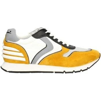 Schuhe Herren Sneaker Low Voile Blanche LIAMPOWER07PE21 niedrig Harren GELB WEISS GELB WEISS