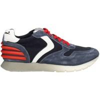 Schuhe Herren Sneaker Low Voile Blanche LIAMPOWER01PE21 niedrig Harren INDIGO BLAU INDIGO BLAU