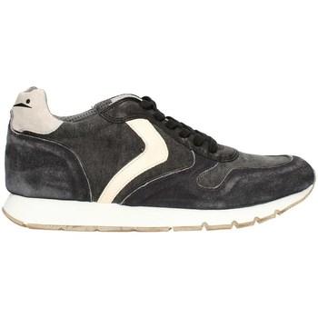 Schuhe Herren Sneaker Low Voile Blanche LIAMDYED01PE21 niedrig Harren SCHWARZ SCHWARZ