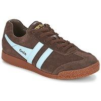 Schuhe Sneaker Low Gola HARRIER Braun / Blau