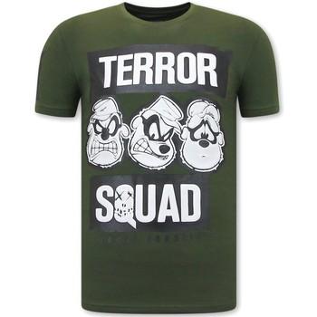 Kleidung Herren T-Shirts Local Fanatic Beagle Boys Squad Fun Shirts Grün