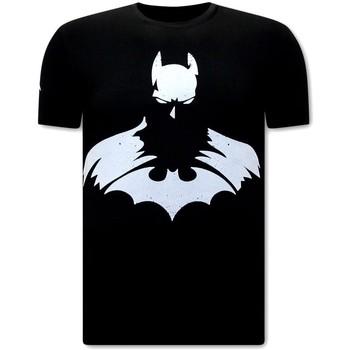 Kleidung Herren T-Shirts Local Fanatic Batman Print Schwarz