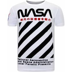 Kleidung Herren T-Shirts Local Fanatic NASA Weiß