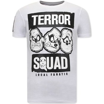 Kleidung Herren T-Shirts Local Fanatic Beagle Boys Squad Fun Shirts Weiß