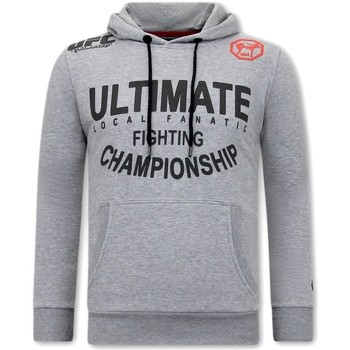Kleidung Herren Sweatshirts Local Fanatic Hoodie UFC Ultimate Fighting Grau