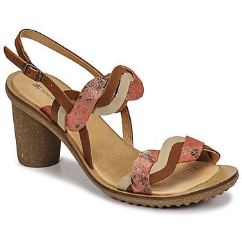 Schuhe Damen Pumps El Naturalista FANTASY Braun