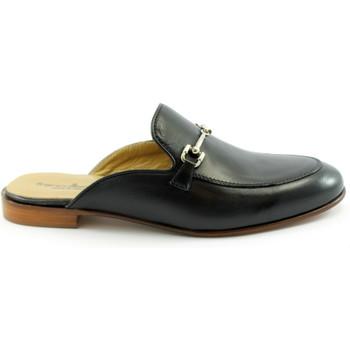 Schuhe Damen Pantoffel Franco Fedele FED-E21-D590-NE Nero