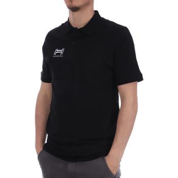 Kleidung Herren Polohemden Hungaria H-16TOMYD000 Schwarz
