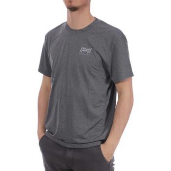 Kleidung Herren T-Shirts Hungaria H-15TPUXB000 Grau