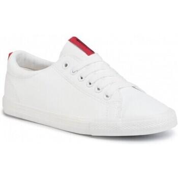 Schuhe Damen Sneaker Low Big Star DD274685101 Weiß