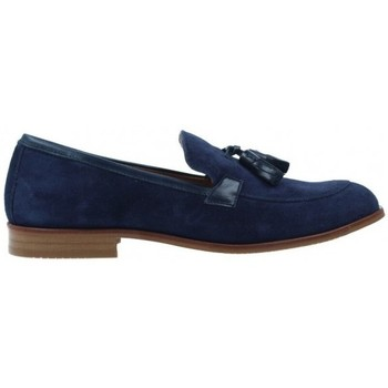 Schuhe Damen Derby-Schuhe & Richelieu Luis Gonzalo Zapatos Mocasines para Mujer de  5133M Blau