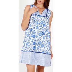 Kleidung Damen Pyjamas/ Nachthemden Admas Ärmelloses Sommerkleid Etienne blau Blau
