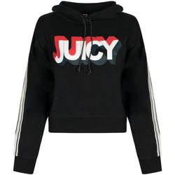 Kleidung Damen Sweatshirts Juicy Couture  Schwarz
