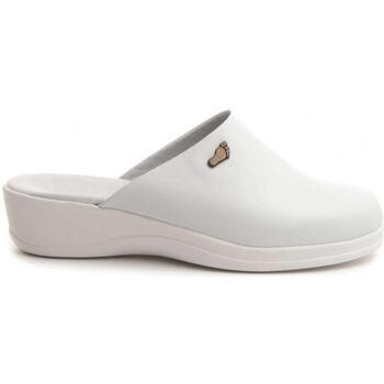 Schuhe Damen Pantoffel D´kel 70461 WHITE