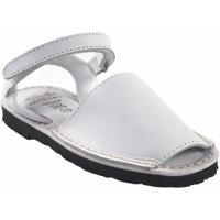 Schuhe Mädchen Multisportschuhe Duendy Sandale  9361 weiß Weiss