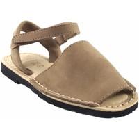 Schuhe Mädchen Sandalen / Sandaletten Duendy Sandale  9361 Taupe Braun