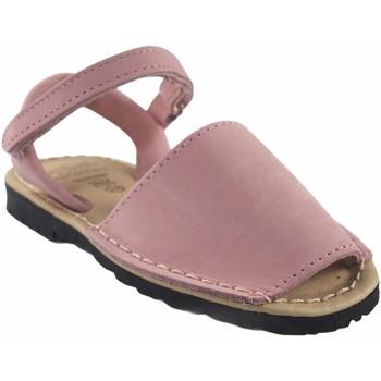 Schuhe Mädchen Sandalen / Sandaletten Duendy Mädchensandale  9361 pink Rose