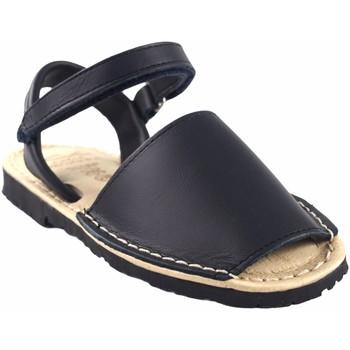 Schuhe Jungen Sandalen / Sandaletten Duendy Sandale  9361 blau Blau