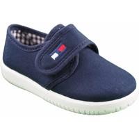Schuhe Jungen Multisportschuhe Vulpeques Leinwand Kind  132-pbt blau Blau