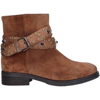Schuhe Damen Low Boots Zoe 0050 LEDER