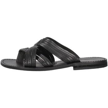 Schuhe Damen Pantoffel Antichi Romani 1456 SCHWARZ