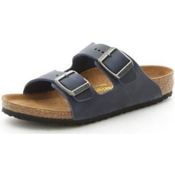 Schuhe Jungen Pantoffel Birkenstock 553883 BLAU