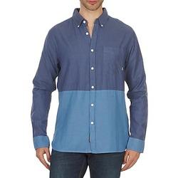 Kleidung Herren Langärmelige Hemden Element BRENTWOOD Blau