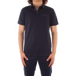Kleidung Herren Polohemden Trussardi 52T00488 1T003603 NAVY BLAU