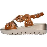 Schuhe Damen Sandalen / Sandaletten CallagHan 26510 LEDER