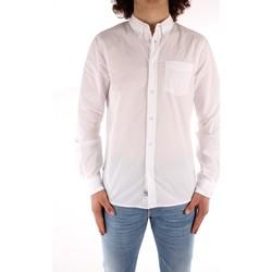 Kleidung Herren Langärmelige Hemden Blauer 21SBLUS01223 WEISS