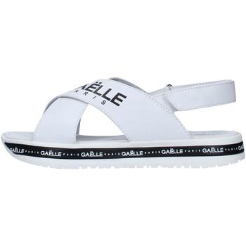 Schuhe Damen Sandalen / Sandaletten GaËlle Paris G-821 WEISS