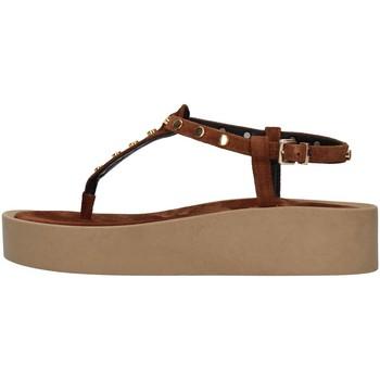 Schuhe Damen Sandalen / Sandaletten Tres Jolie 2071/ALOE BRAUN