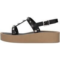 Schuhe Damen Sandalen / Sandaletten Tres Jolie 2080/ALOE SCHWARZ