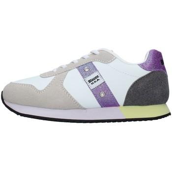 Schuhe Mädchen Sneaker Low Blauer S1LILLI02/LES WEISS