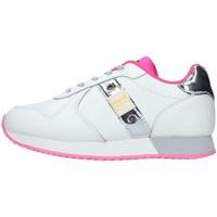 Schuhe Mädchen Sneaker Low Blauer S1LILLI02/LEA WEISS