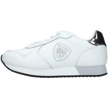 Schuhe Mädchen Sneaker Low Blauer S1LILLI01/LEA WEISS