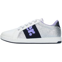 Schuhe Mädchen Sneaker Low Blauer S1DORY04/GLI SILBER