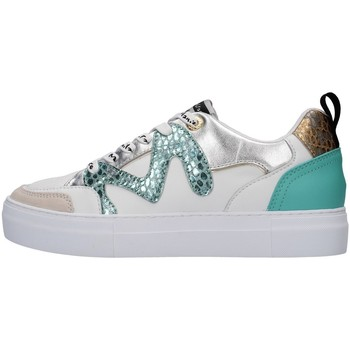 Schuhe Damen Sneaker Low Manila Grace S657LW WEISS