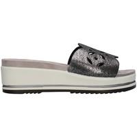 Schuhe Damen Pantoffel Enval 7284411 SCHWARZ