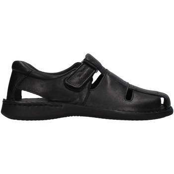 Schuhe Herren Sandalen / Sandaletten Enval 7222200 SCHWARZ